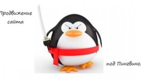 Продвижение сайта под пингвином